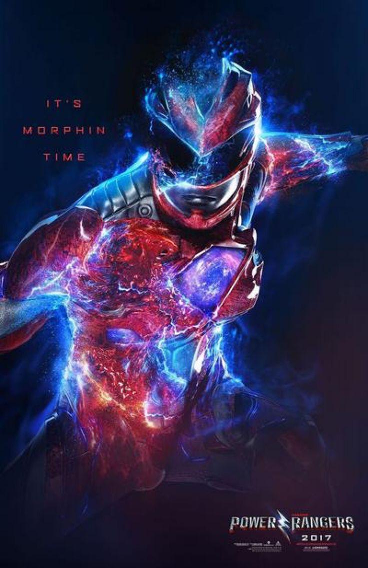 New Power Rangers (2017) Red Ranger Poster by Artlover67