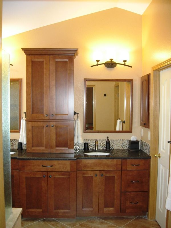 Kitchen Cabinets In Bathroom 13 best bathrooms images on pinterest | bathrooms, vanity and