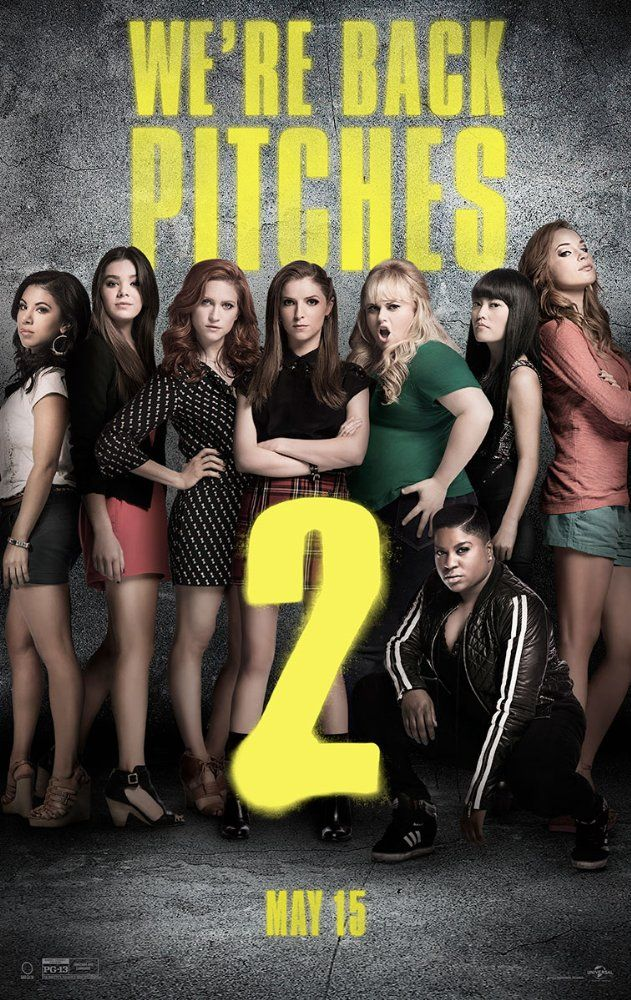 PITCH PERFECT 2 (2015): After a humiliating command performance at The Kennedy Center, the Barden Bellas enter an international competition that no American group has ever won in order to regain their status and right to perform.