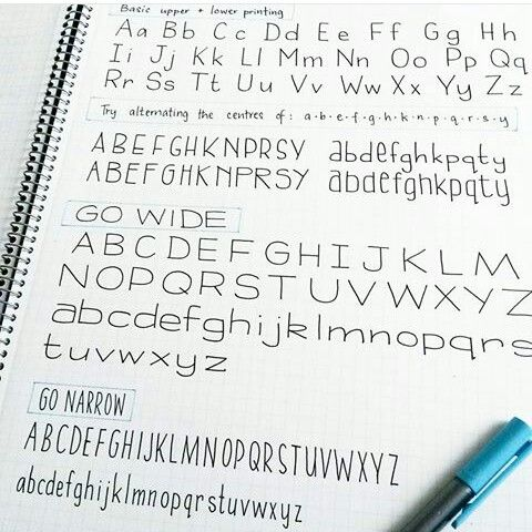 25+ best ideas about Different handwriting styles on Pinterest ...
