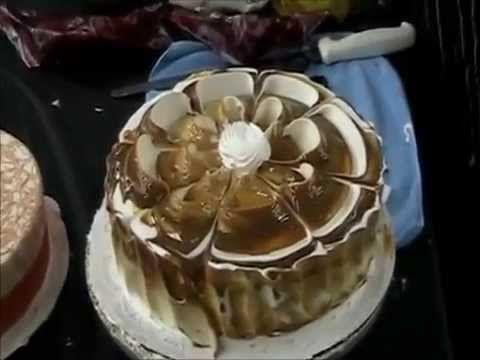 Школа начинающих украшение тортов фото