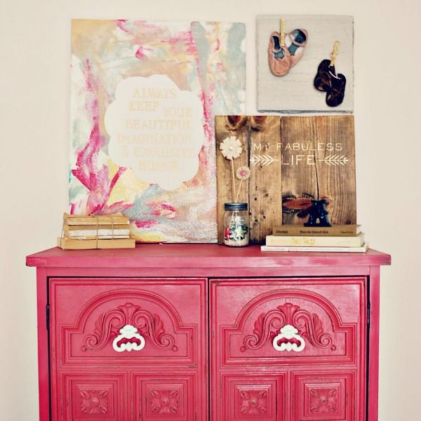 Craftaholics Anonymous® | How to Spray Paint Furniture
