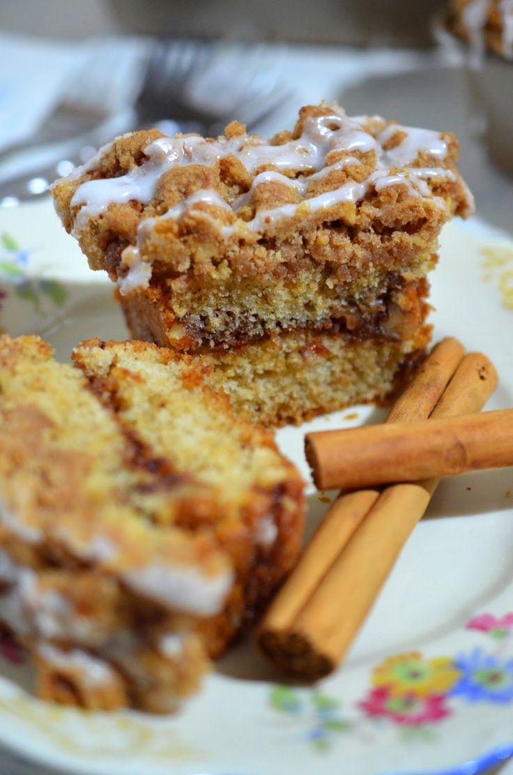 Ninas kleiner Food-Blog: Zimt-Walnuss-Streuselkuchen