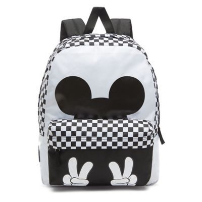 cbbbd3b1b08 Disney x Vans Checkerboard Mickey Realm Backpack in 2019