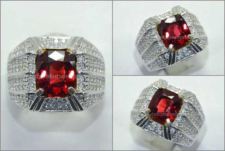 Sparkling Hot Rhodolite Garnet Kristal Bling-Bling + M. Big - RGR 013