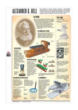 Infografía: Alexander Graham Bell