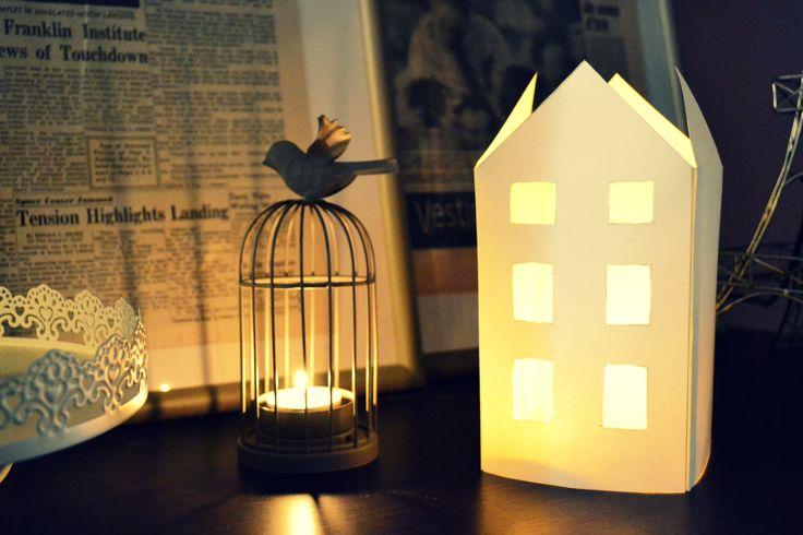 Tutorial per realizzare lanterne di natale: DIY