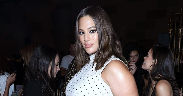 Pregnant Ashley Graham Slays in a Latex Jessica Rabbit Halloween Costume