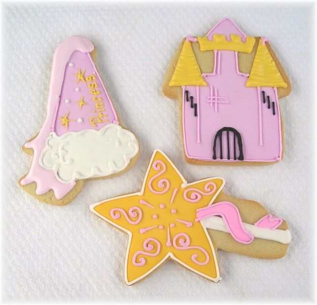 123 Best Images About Princess Castle Cookies, Cakes
