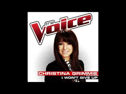Christina Grimmie - I Won't Give Up - Studio Version - The Voice USA 2014