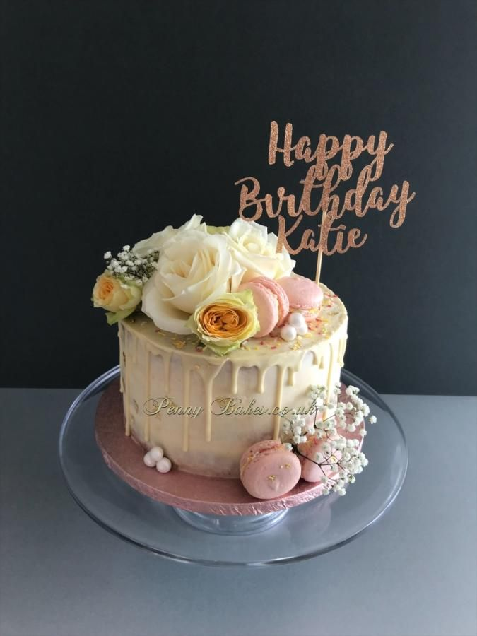 Pin On Flower Cakes