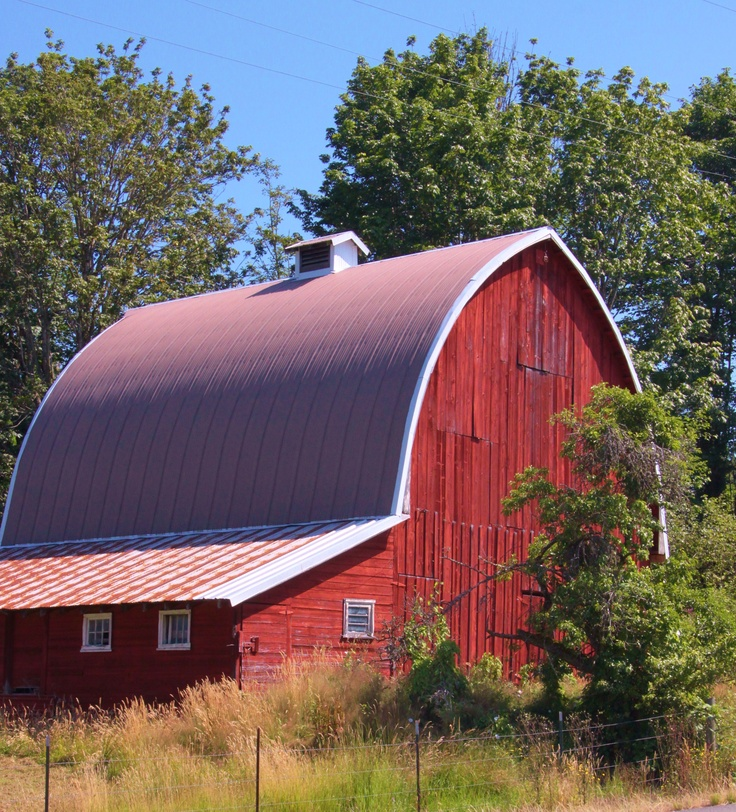 Old Red Barn: Beautiful Barns, Red Barns