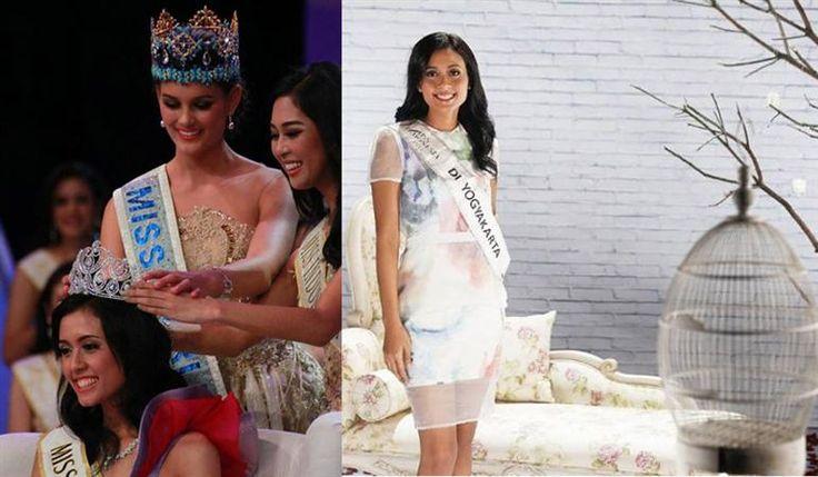 Maria Harfanti Miss World Indonesia 2015