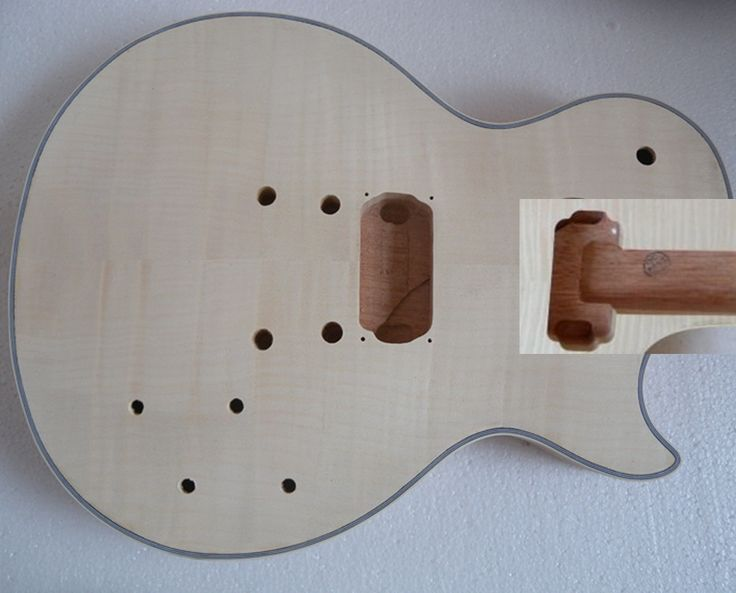 (148.20$)  Watch more here - http://ai87n.worlditems.win/all/product.php?id=477065185 - LP 24.75 inch 22 fret  Unfinished electric guitar body and neck mahogany made   maple fingerboard  high quality