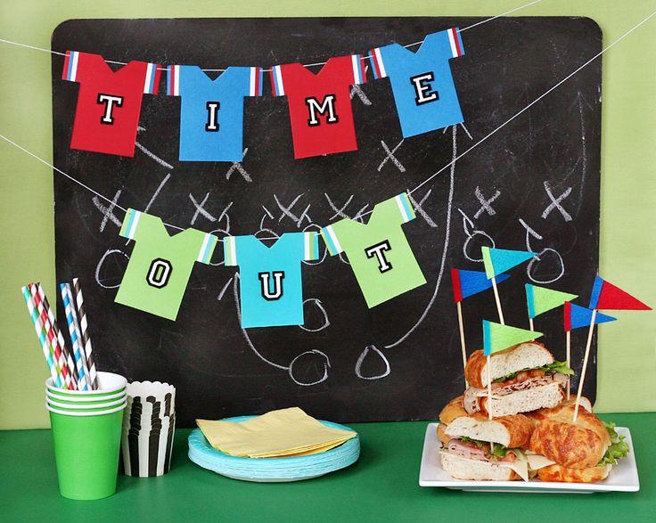 Super Bowl Party www.fiskars.com