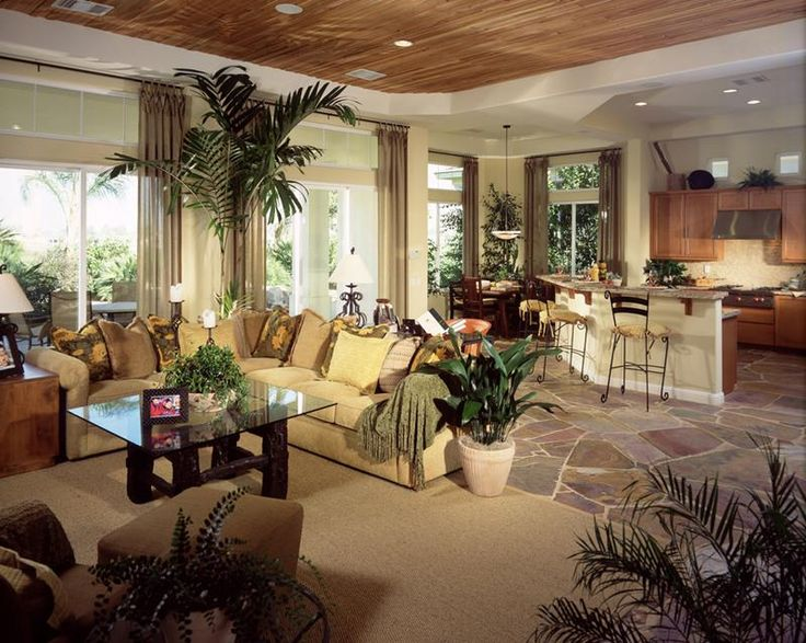24 Large Open-Concept Living Room Designs - Home Epiphany