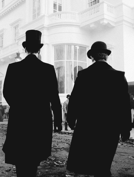 """Victorian Sherlock and Dr. Watson .. """"The Abominable Bride"""" .."""