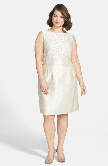 Nordstrom wedding dresses plus size