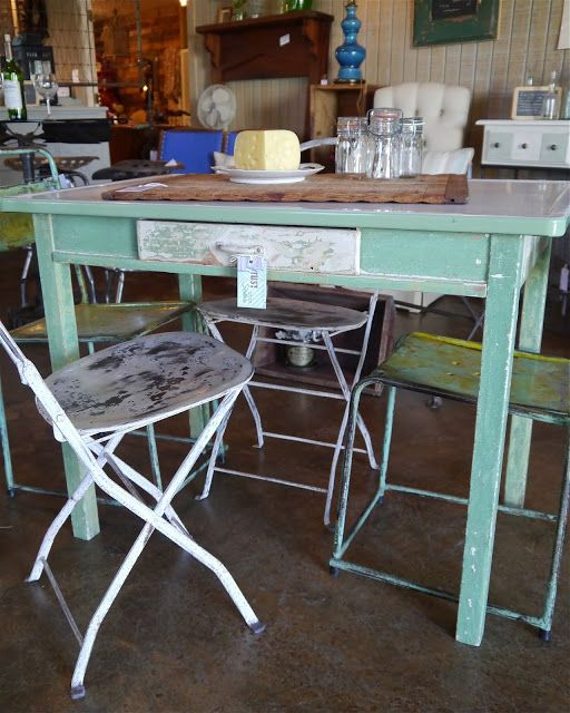 Old Kitchen Table: 231 Best Images About Vintage Kitchen Tables On Pinterest
