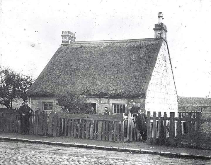 Granny Gibbs Cottage, Thorn wood, Partick Glasgow