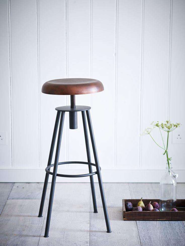 Swivel Stool - Copper - Stools - Furniture