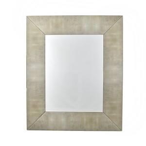 Ivory Shagreen Mirror €450 Height:120cm Width:100cm