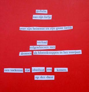 'Op den duur' door Loes Vork. Gevonden Gedichten wachten op jou in bijvoorbeeld tijdschriftartikelen, krantenkoppen of boekpagina's. Tot jij ze ontdekt!