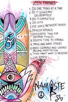12 Zen Self-Care Tips