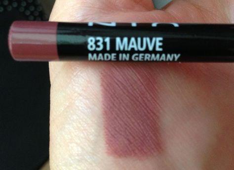 NYX - MAUVE SLP 831 Lip Liner Dupe for Mac Whirl Lip Pencil Sealed