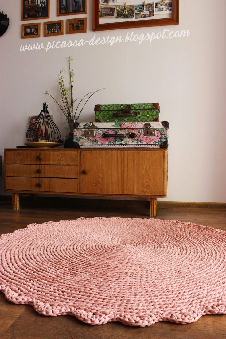 Moje pomysły, moje robótki: dywan