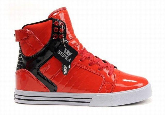 Supra Justin Bieber Red Black Shoes. buy supra justin bieber shoes outlet online store - www.24hshoesmall.com