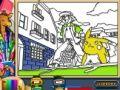 Игра Покемон навсегда, онлайн раскраски страницы. Играть онлайн