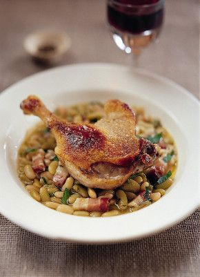 Recipe Image Duck Leg Confit With Flageolet Beans