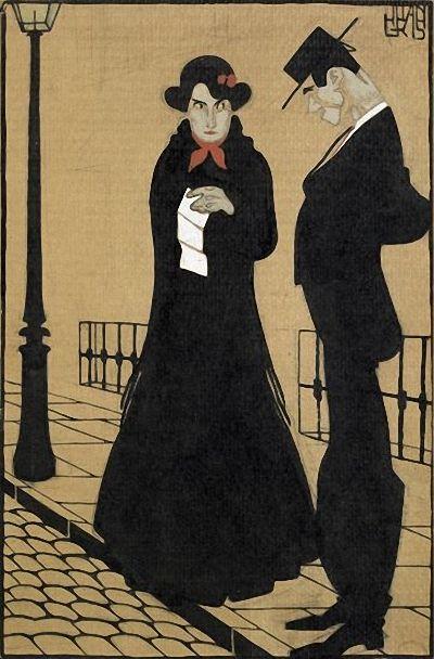 La Lettre by Juan Gris c.1909 ~ Love letter?? Juan Gris, de nombre real José Victoriano González-Pérez (Madrid, 23 de marzo de 1887 – Boulogne-sur-Seine, Boulogne-Billancourt, Francia, 11 de mayo de 1927), fue un pintor español que desarrolló su actividad principalmente en París como uno de los maestros del cubismo.