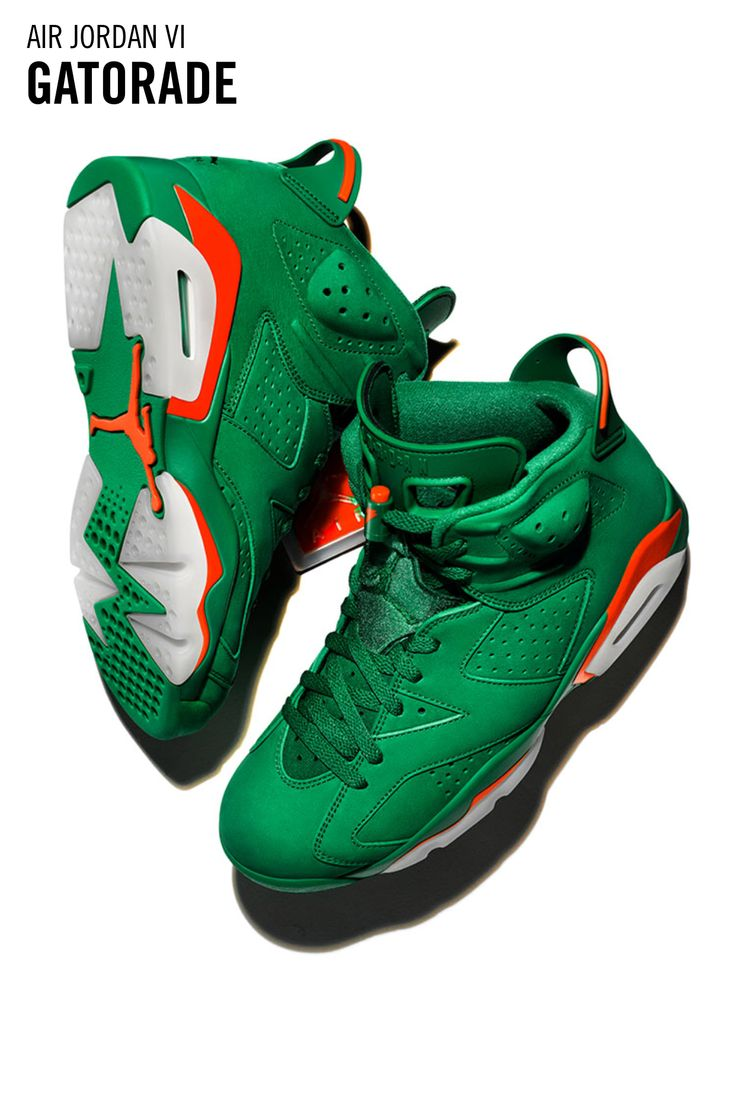 Via Nike⁠ SNKRS: https://www.nike.com/us/launch/t/air-jordan-6-gatorade-pine-green?sitesrc=snkrsIosShare