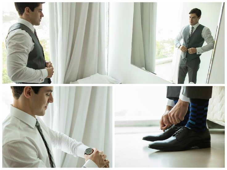 Noivo   Groom   Traje do noivo   Roupa do noivo   Dia do noivo   Making of do noivo   Groom's suit   Suit and tie   Terno   Sapato do noivo   Inesquecivel Casamento