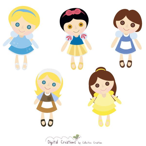 clipart of doll - photo #47