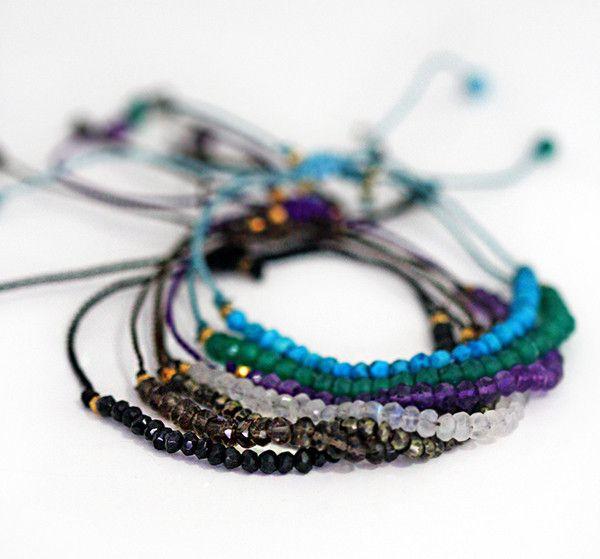Beaded Gemstone Bracelet | Kei Jewelry