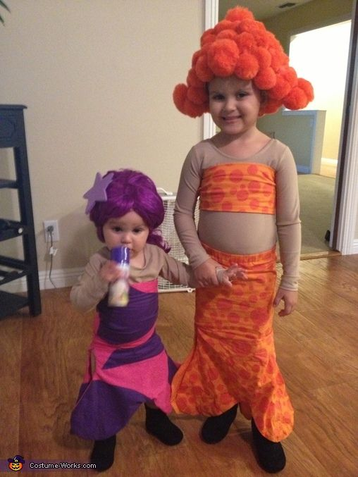 Bubble Guppies Deema and Oona Homemade Costumes