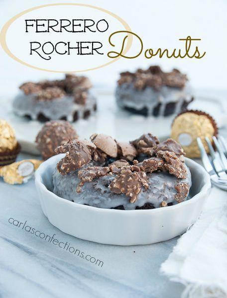 Ferrero Rocher Donuts (Donut Fridays). Chocolate ...
