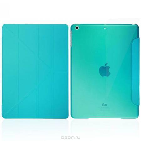 IT Baggage Hard Case чехол для iPad Air 9.7, Blue  — 549 руб. —  Чехол IT Baggage Hard Case для iPad Air 9.7 – это стильный и лаконичный аксессуар, позволяющий сохранить планшет в идеальном состоянии. Надежно удерживая технику, обложка защищает корпус и дисплей от появления царапин, налипания пыли. Также чехол IT Baggage для iPad Air 9.7 можно использовать как подставку для чтения или просмотра фильмов. Имеет прозрачную заднюю крышку и свободный доступ ко всем разъемам устройства.