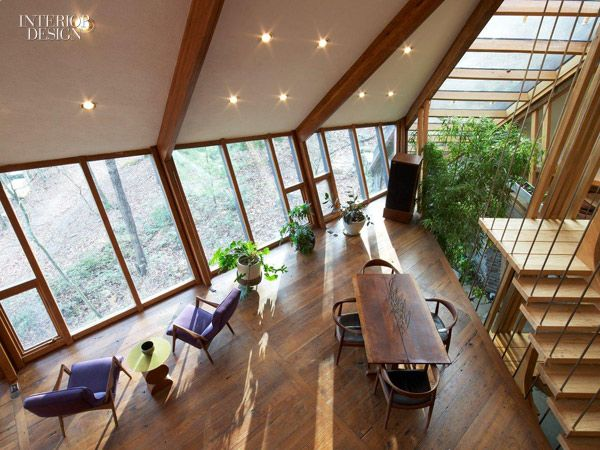 A Force Of Nature As It Evolved Over The Last Four Decades Architect Nancy Copleys Own House Drew Inspiration From Its Wooded Setting In Accord New York