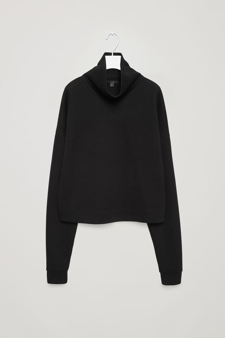 COS   Oversized high-neck sweatshirt