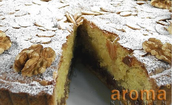 Maltese almond torte with date and orange filling   Aceline Entertainment