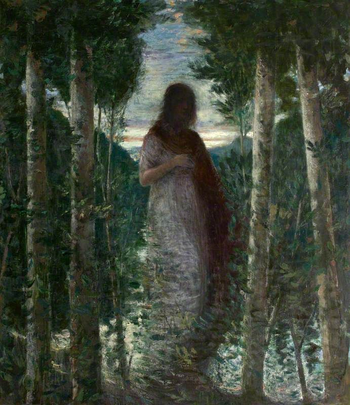 Christopher Le Brun, Oh! Death will find me (from the poem by Rupert Brooke), 1995–1996