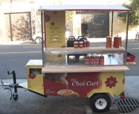 snacks: the Chai Cart would be perfect for the mid-afternoon