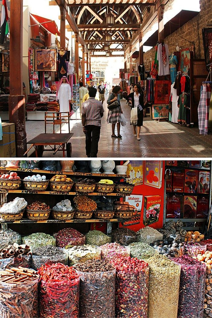 Old Dubai Markets! Click through to see the top 10 things to do in Dubai!
