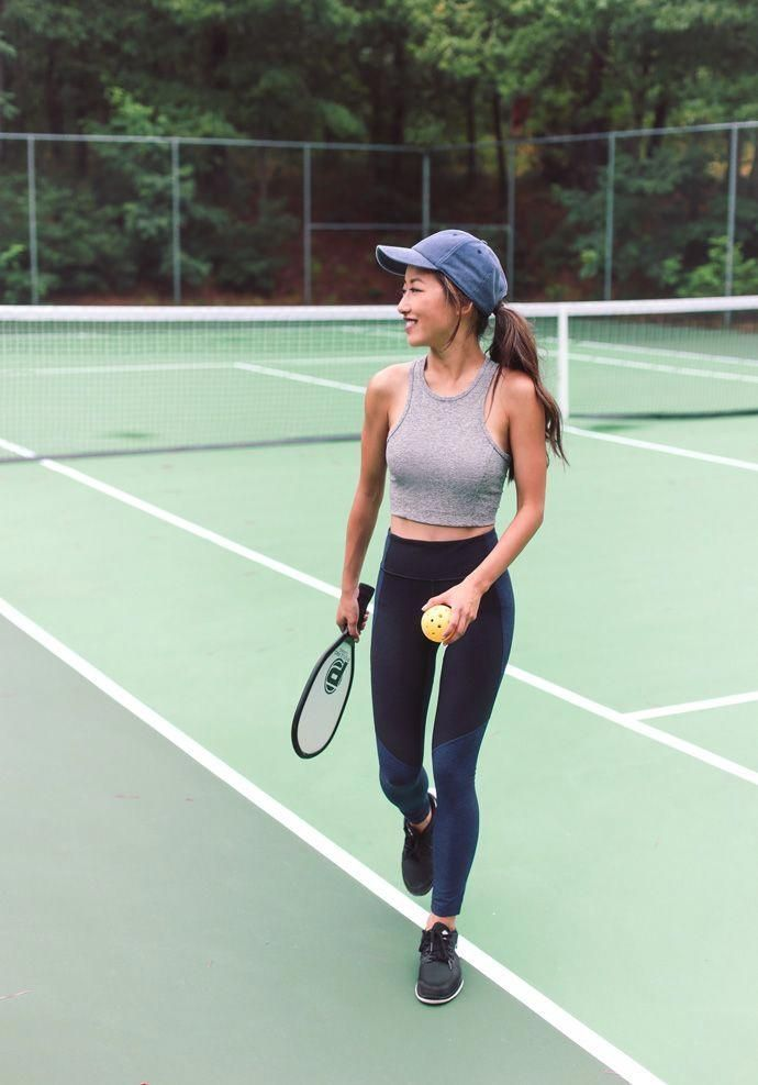 46 Fashionable Workout Outfit Ideas For Women In Tennis Outfit Women Tennis Clothes Workout Clothes