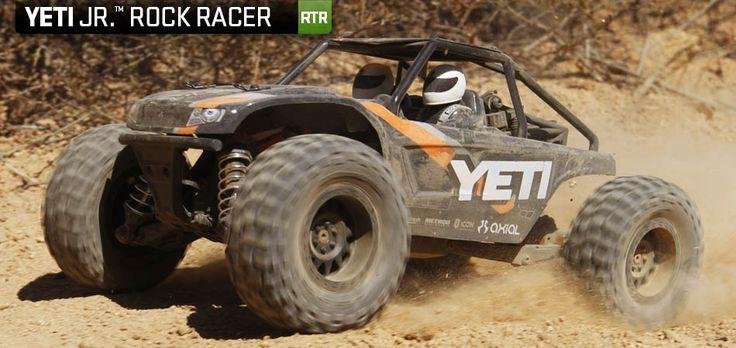 Axial Yeti Jr.™ 1:18 4WD RTR - RC Bil