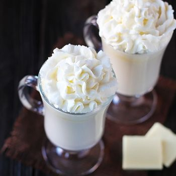 Homemade White Hot Chocolate Recipe. This is great when I can't buy the Stephen's White Hot Chocolate.